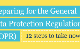 GDPR: Preparing for the new regulation, a 12 step guide…