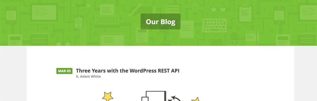Inspiration from the WordPress REST API Design Lead