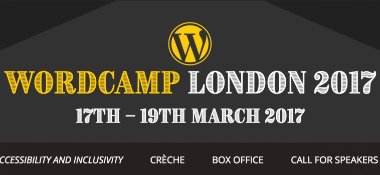 Elliott joins the Design Team for WordCamp 2017